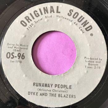 Dyke and the Blazers-Runaway people-Original sound E+