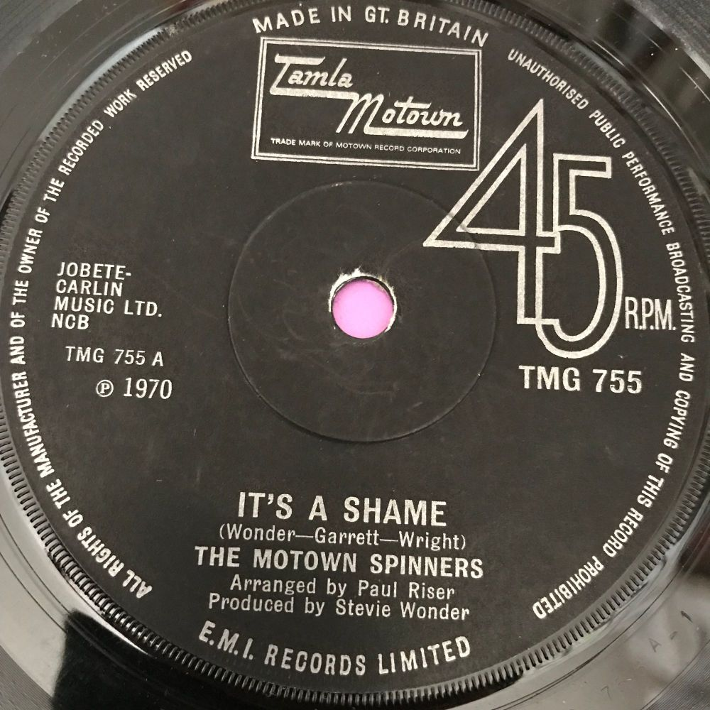 Motown Spinners-It's a shame/Sweet Thing-TMG 755 E