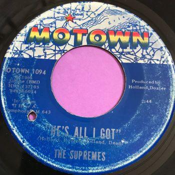 Supremes-He's all I got-Motown vg+