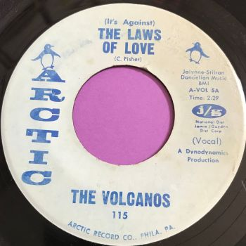 Volcanos-The laws of love-Arctic vg+