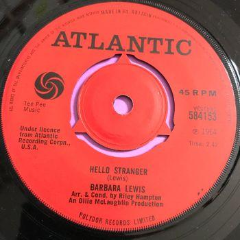 Barbara Lewis-Baby I'm yours/ Hello stranger-UK Atlantic E