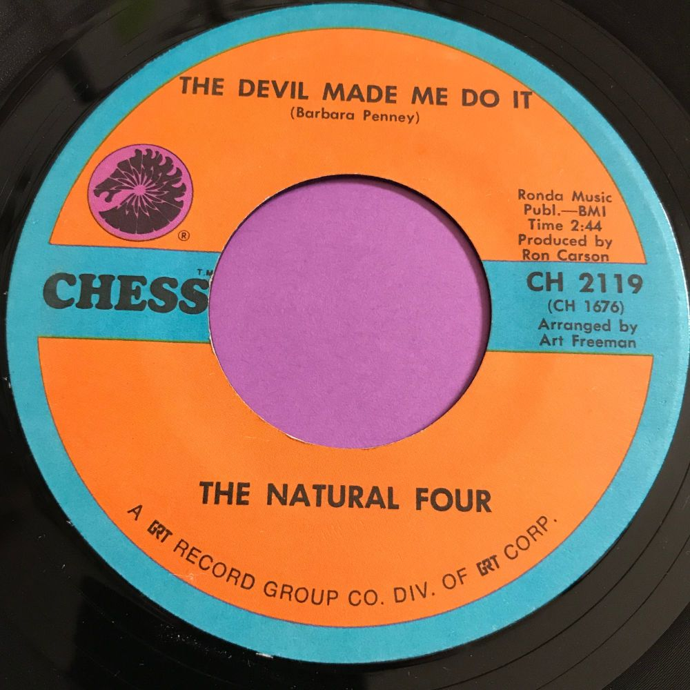 Natural Four-The devil made me do it-Chess E