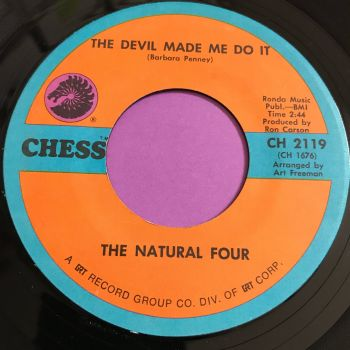 Natural Four-The devil made me do it-Chess E