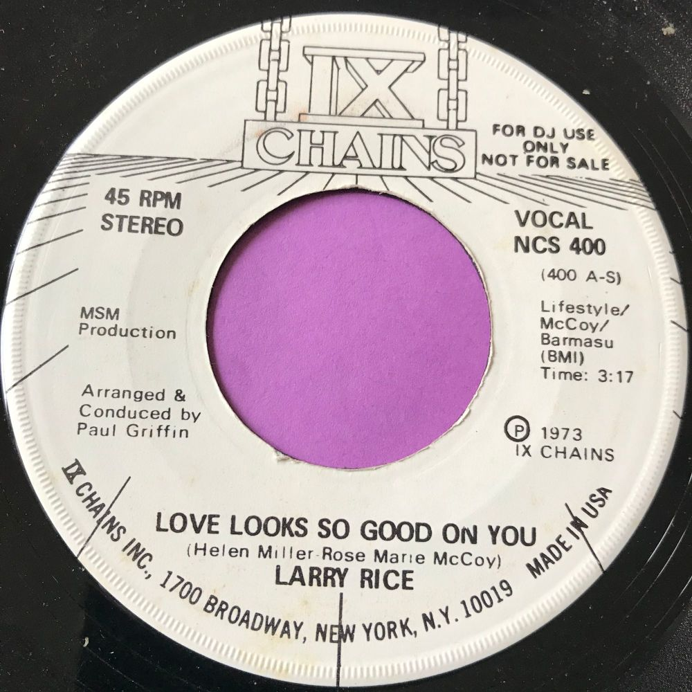 Larry Rice-Love looks so good on you-IX Chains WD E+