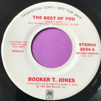 Booker T. Jones-The best of you-Stereo WD E+