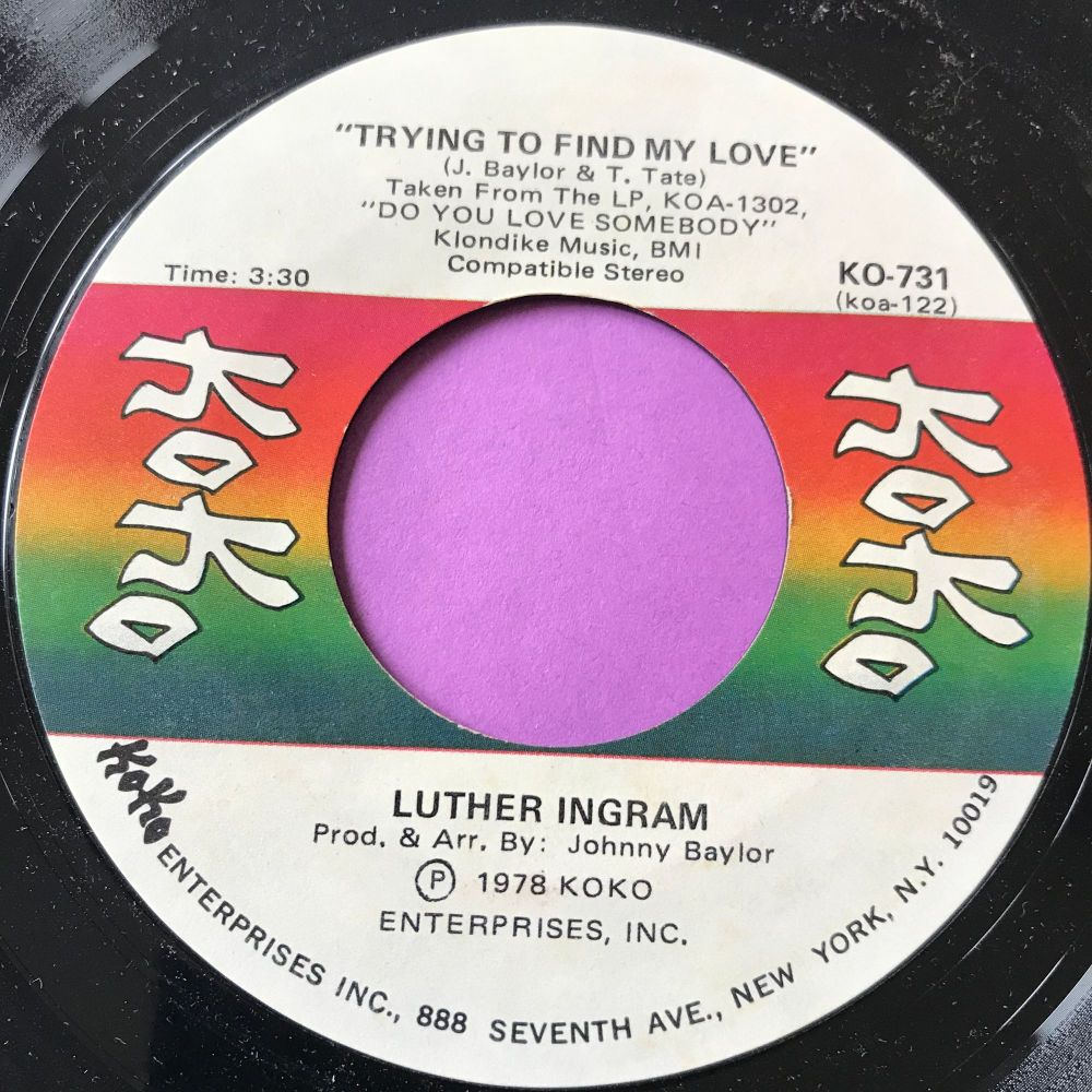 Luther Ingram-Trying to find my love-Koko E+