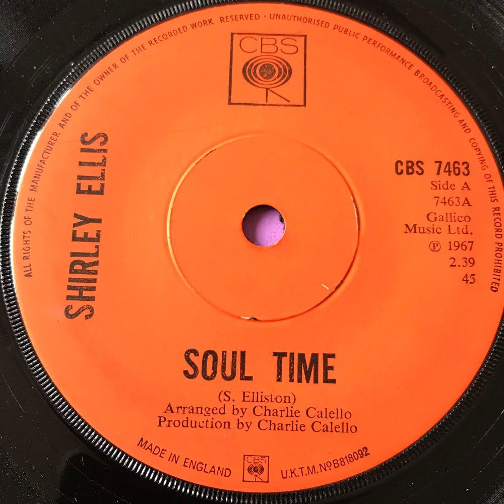 Shirley Ellis-Soul Time-UK CBS E+