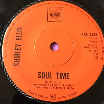 Shirley Ellis-Soul Time-UK CBS E+