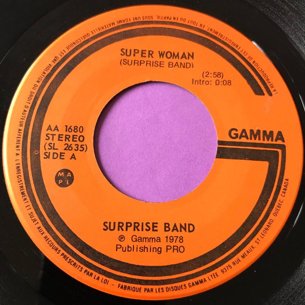 Surprise Band-Super woman-Gamma E+