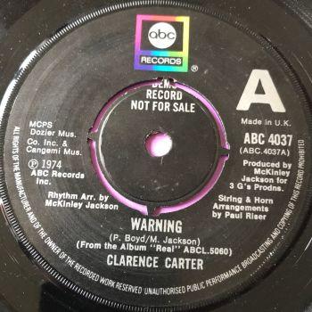 Clarence Carter-Warning-UK ABC Demo E+