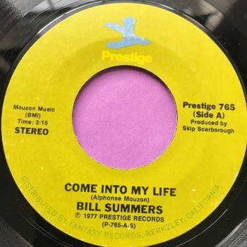 Bill Summers-Come into my life-Prestige E+