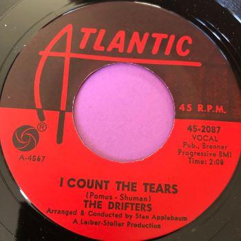 Drifters-I count the tears-Atlantic E+