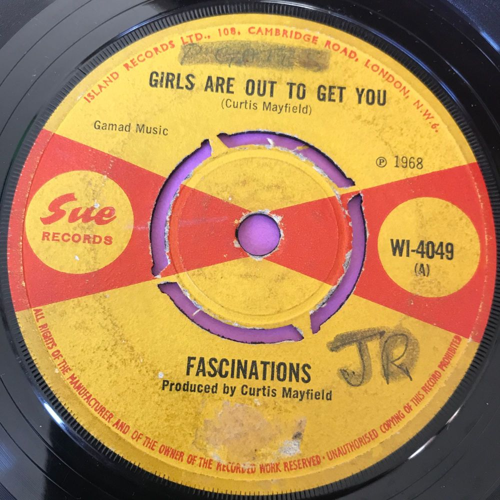 Fascinations-Girls are out to get you-UK Sue Demo vg