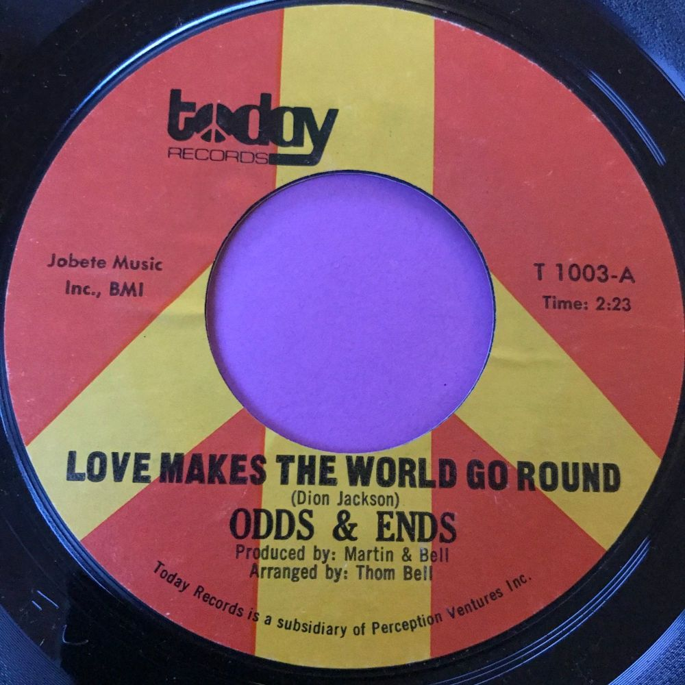 Odds & Ends-Love makes the world go round-Today E+