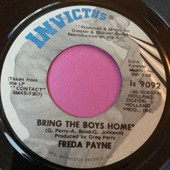 Freda Payne-Bring the boys home-Invictus E+