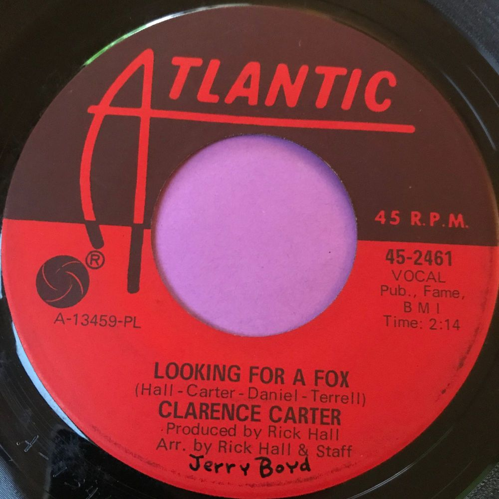 Clarence Carter-Looking for a fox-Atlantic wol E+