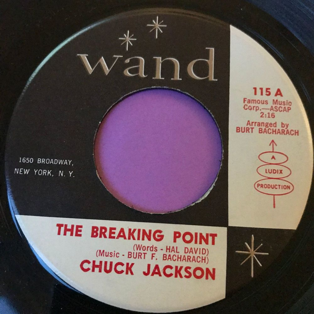 Chuck Jackson-The breaking point-Wand E+