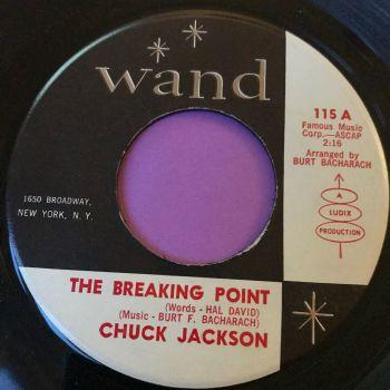 Chuck Jackson-The breaking point-Wand E+