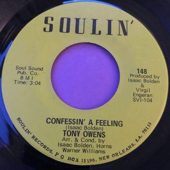 Tony Owens-Confessin' a feeling-Soulin E+
