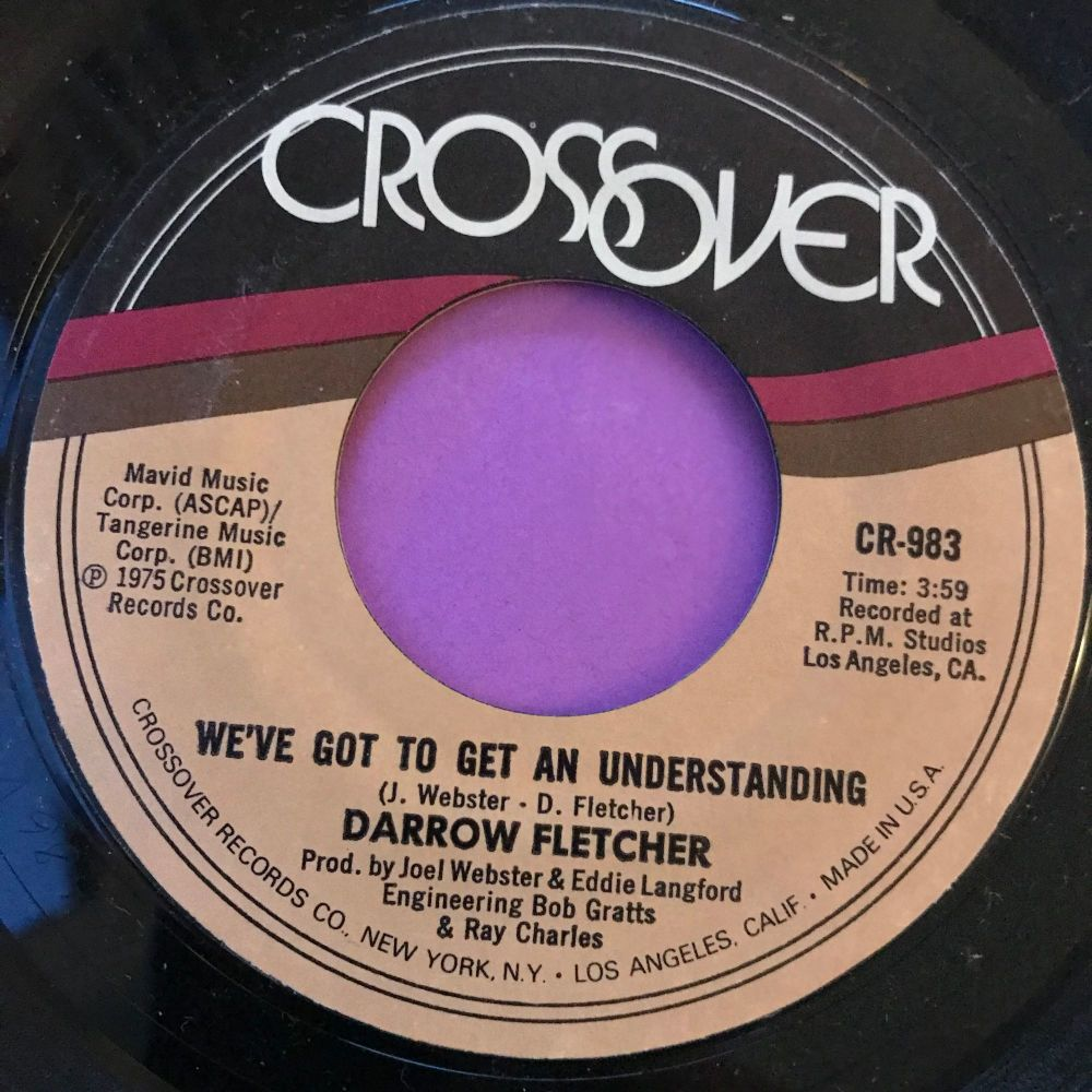 Darrow Fletcher-This time/ We've got to get an understanding-Crossover M-