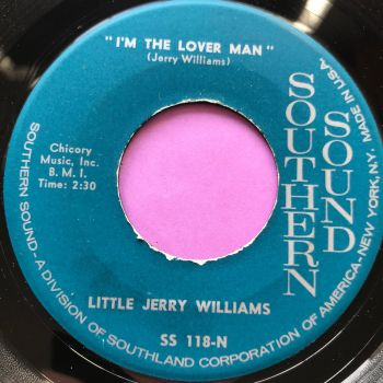 Little Jerry Williams-I am the lover man-Southern Sound E