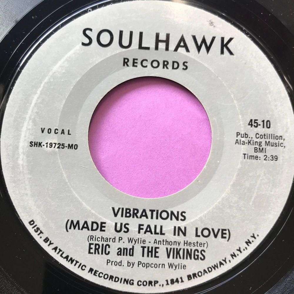 Eric and the Vikings-Vibrations-Soul hawk E+