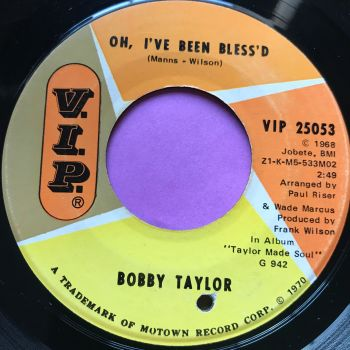Bobby Taylor-Oh I've been blessed-VIP vg+