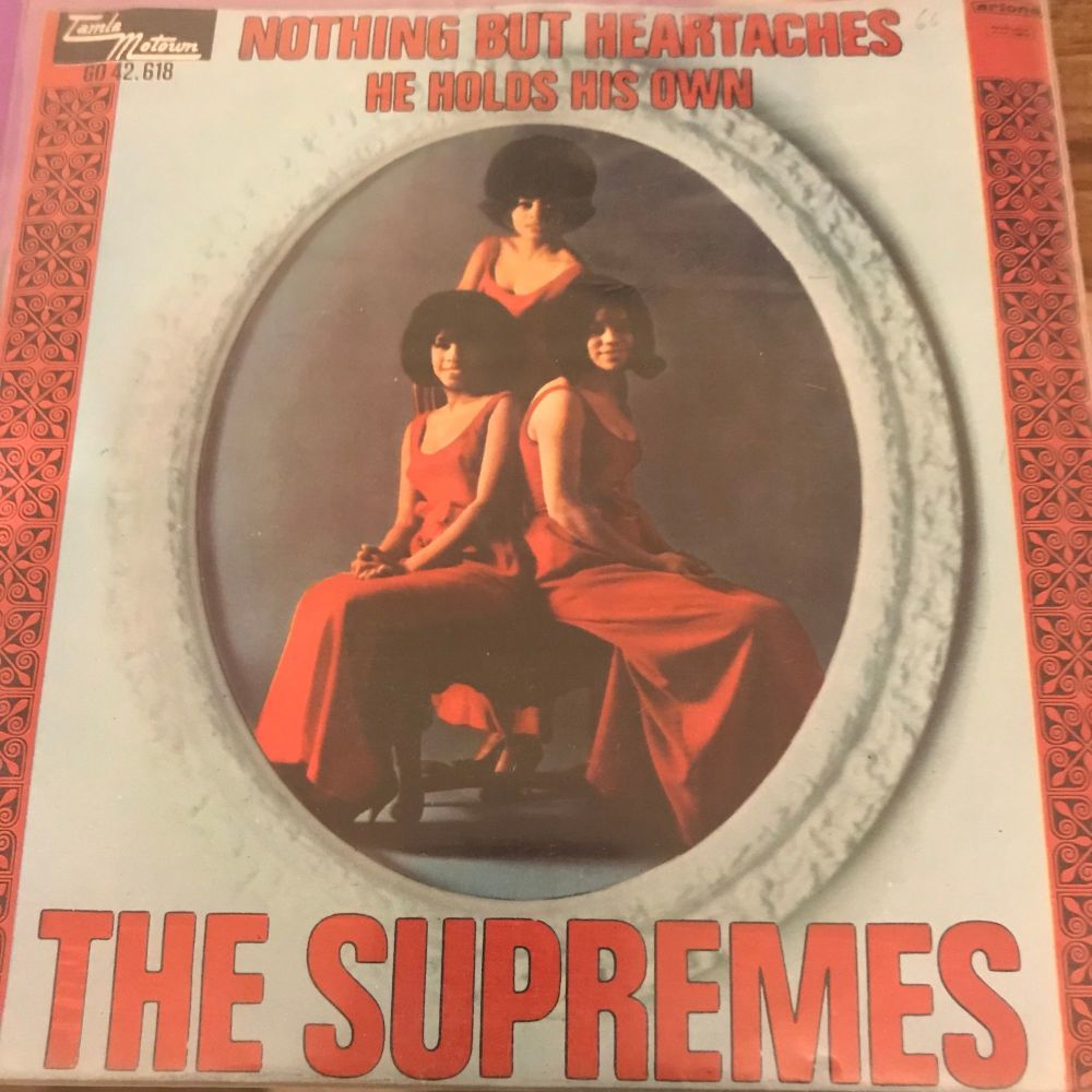Supremes-Nothing but heartaches-Dutch PS E+