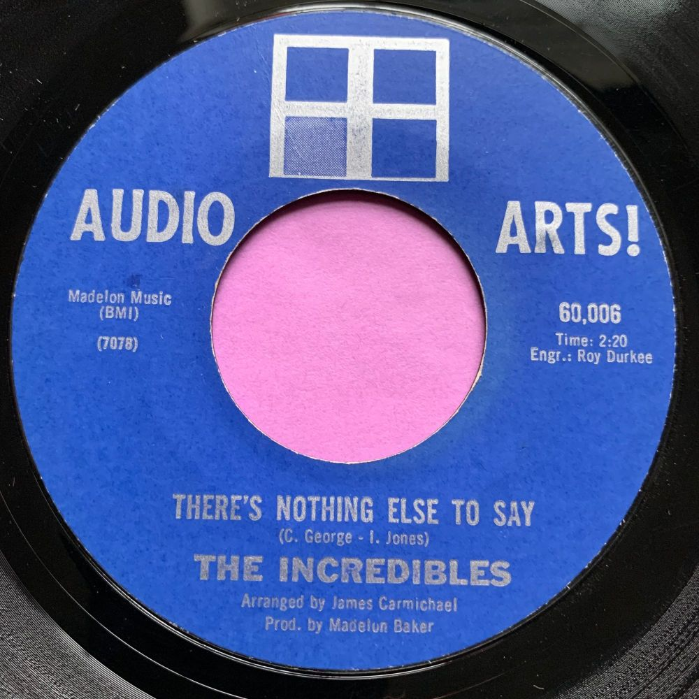 Incredibles-There's nothing else to say-Audio Arts E+