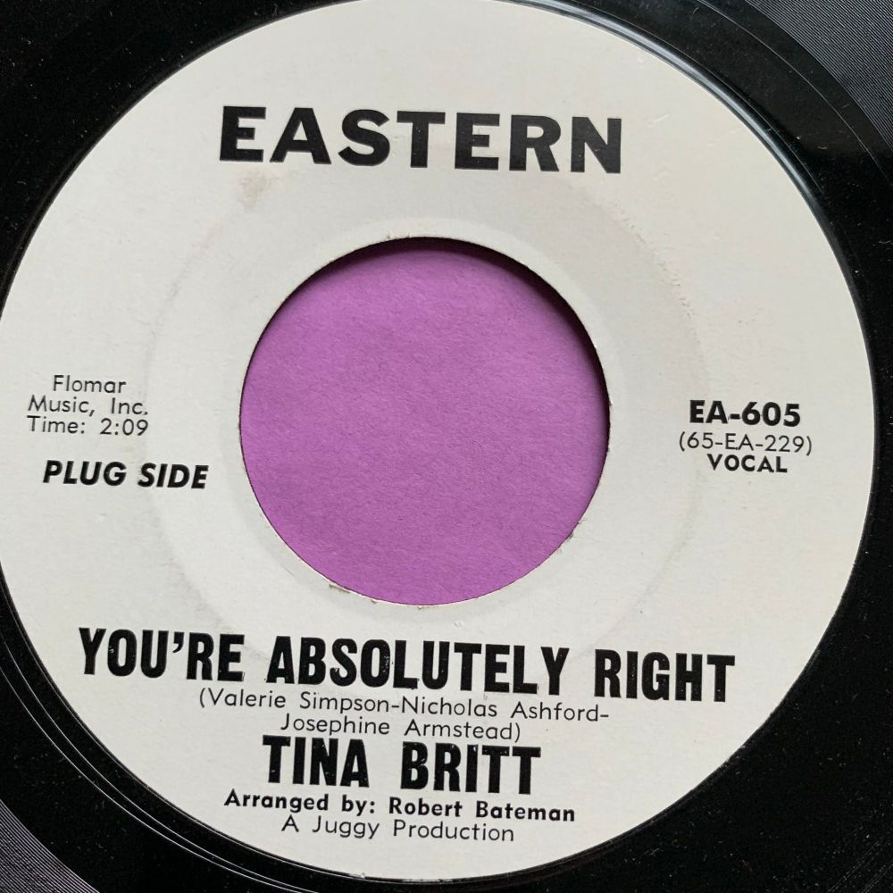 Tina Britt-You're absolutely right-Eastern WD M-