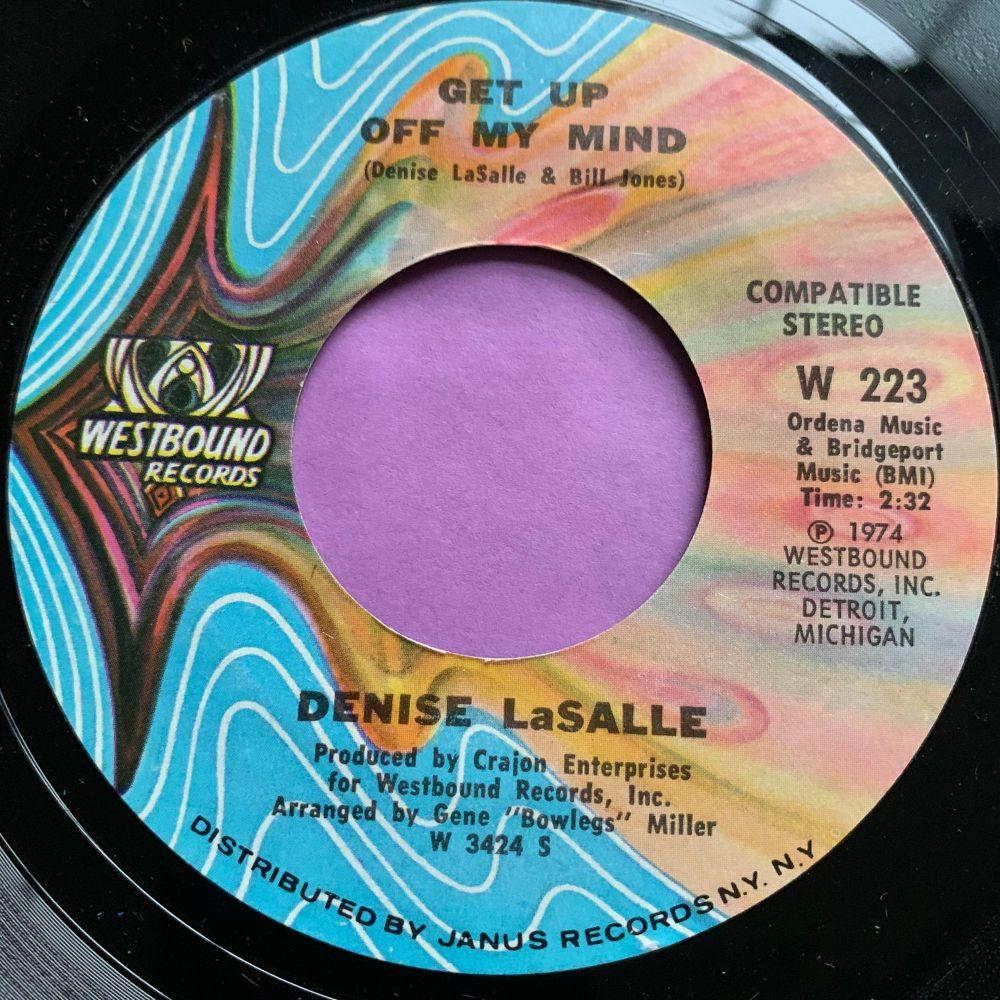 Denise LaSalle-Get up off my mind-Westbound M-