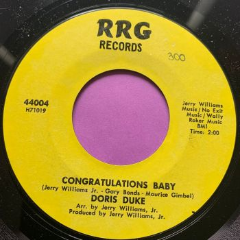 Doris Duke-Congratulations baby-RRG wol E+