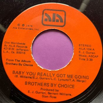 Brothers By Choice-Baby you really got me going-Ala WD E+