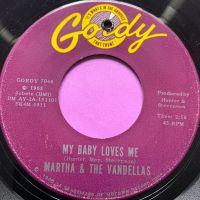 Martha Reeves-My baby loves me-Gordy E