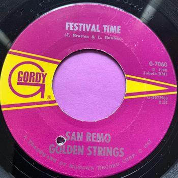 San Remo Strings-Festival time-Gordy E+