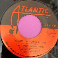 Sweet Inspirations-At last I found a love-Atlantic E+
