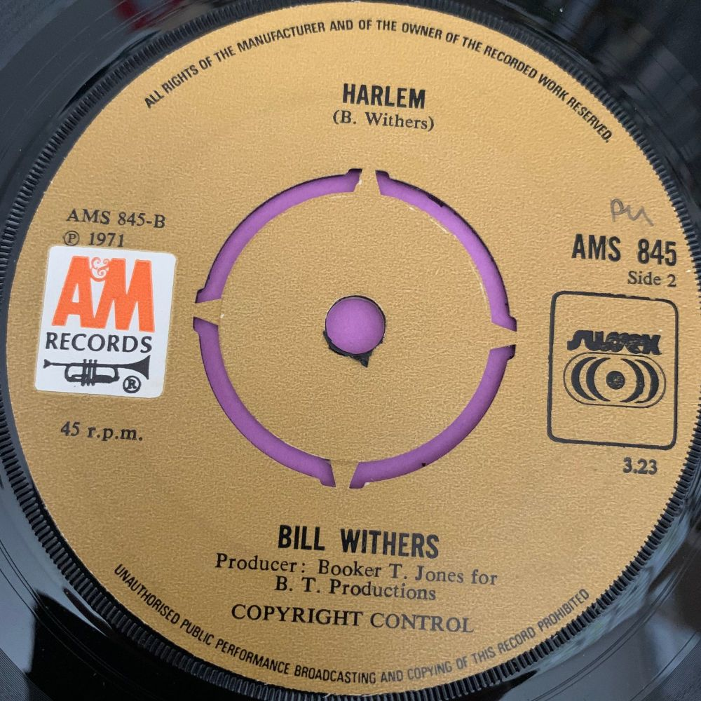 Bill Withers-Harlem-UK A&M E+