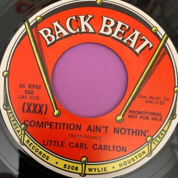Little Carl Carlton-Competition ain't nothin'-Back Beat WD E+