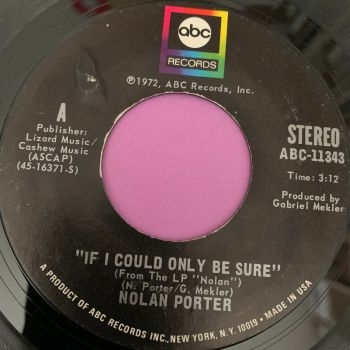 Nolan Porter-If I could only be sure-ABC E+