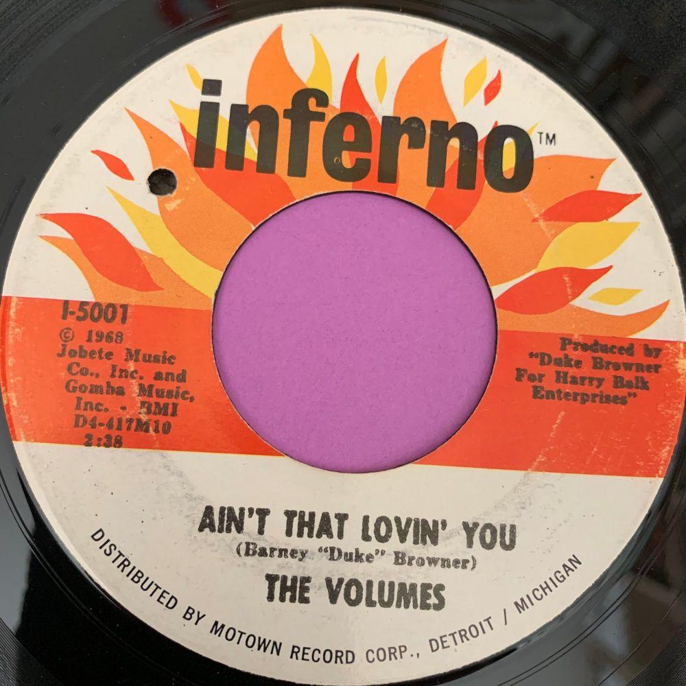 Volumes-Ain't that lovin' you-Inferno  E