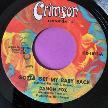 Damon Fox-Gotta get my baby back-Crimson  E+