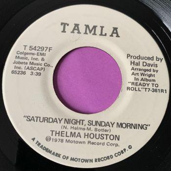 Thelma Houston-Saturday night, Sunday morning-Tamla WD E+