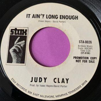 Judy Clay-It ain't long enough-Stax WD E