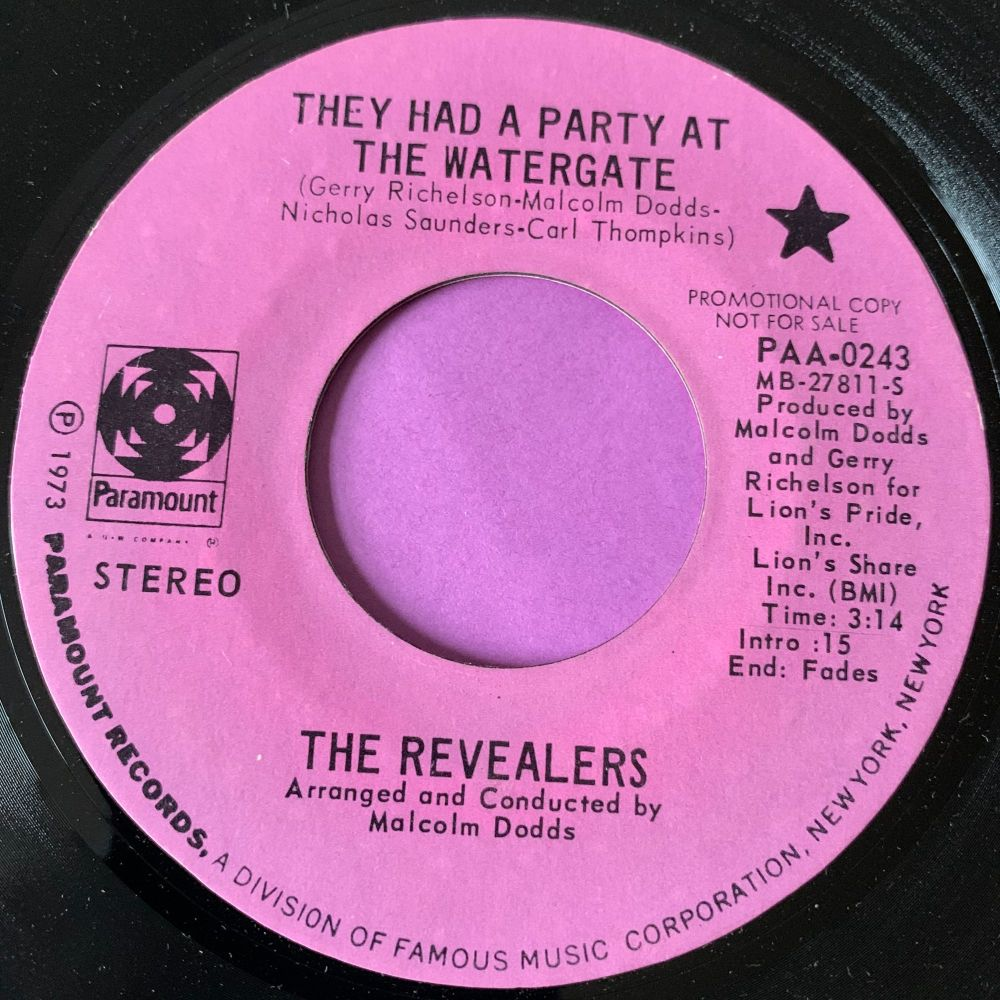 Revealers-They had a party at the watergate-Paramount E+