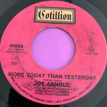 Joe Arnold-More today than yesterday-Cotillion E+