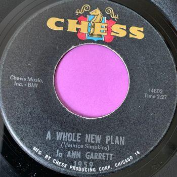 Jo Anne garrett-A whole new plan/ Stay by my side-Chess E+