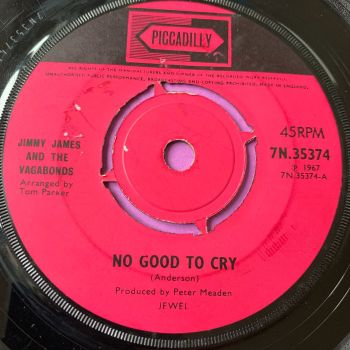 Jimmy James-No good to cry-Piccadilly vg+