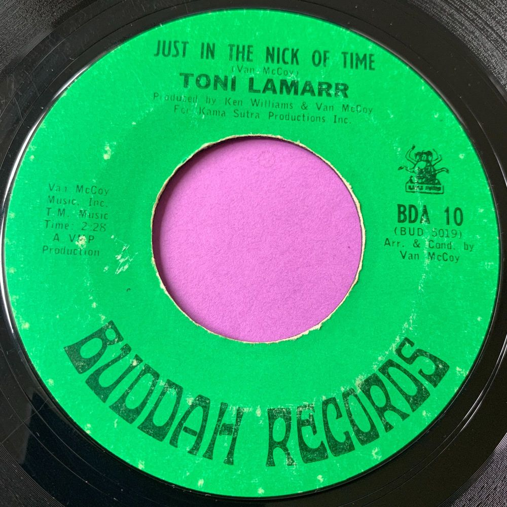 Toni Lamarr-Just in the nick of time-Buddah E