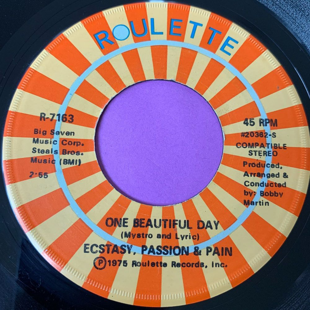 Ecstasy Passion & Pain-One beautiful day-Roulette E+