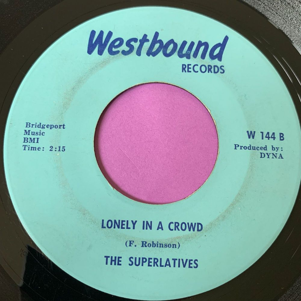 Superlatives-Lonely in a crowd/I don't know how-Westbound E+